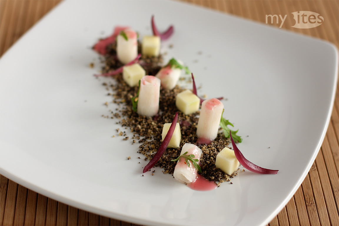 Camomile Turnip on Poppy Seed Earth