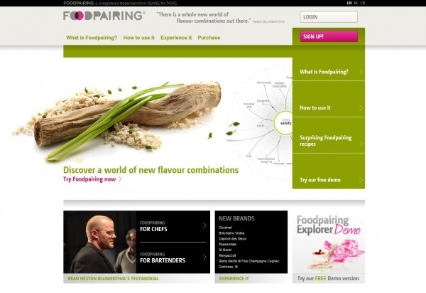 Foodpairing website