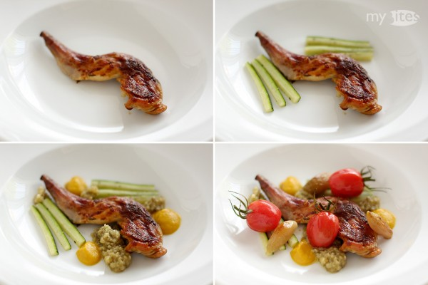 Leg of Hare with Ratatouille
